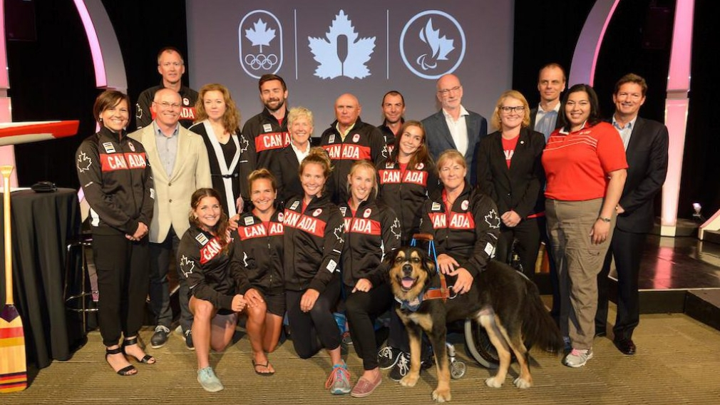 Nomination de l'équipe canadienne de canoë-kayak pour Rio 2016