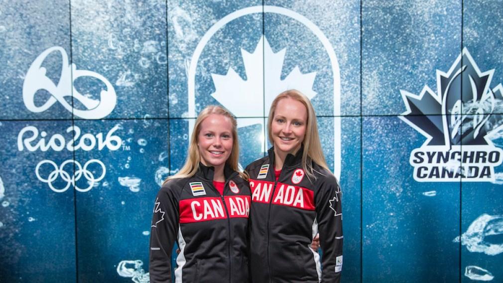 Nomination du duo canadien de nage synchronisée pour Rio 2016