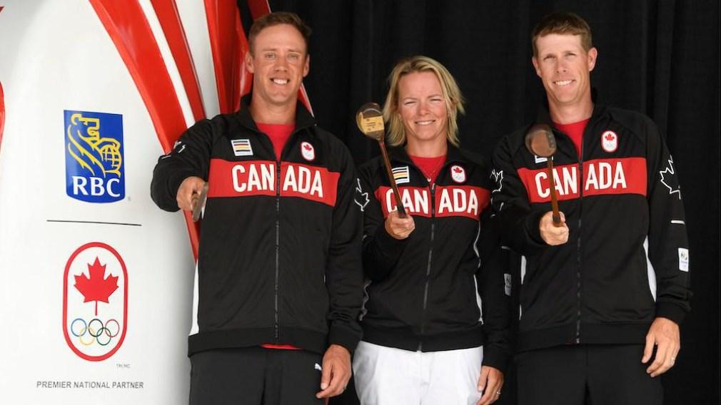 Nomination de l'équipe canadienne de golf pour Rio 2016