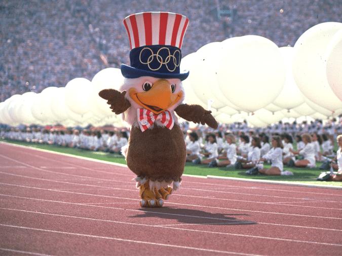 Sam, la mascotte officielle des Jeux de Los Angeles. (Photo : IOC)