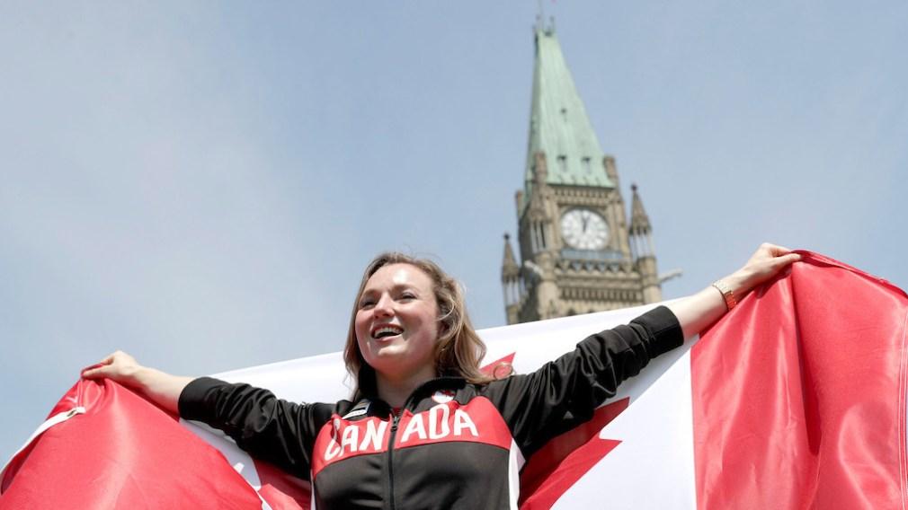 Rosie MacLennan est nommée porte-drapeau d'Équipe Canada à Rio 2016
