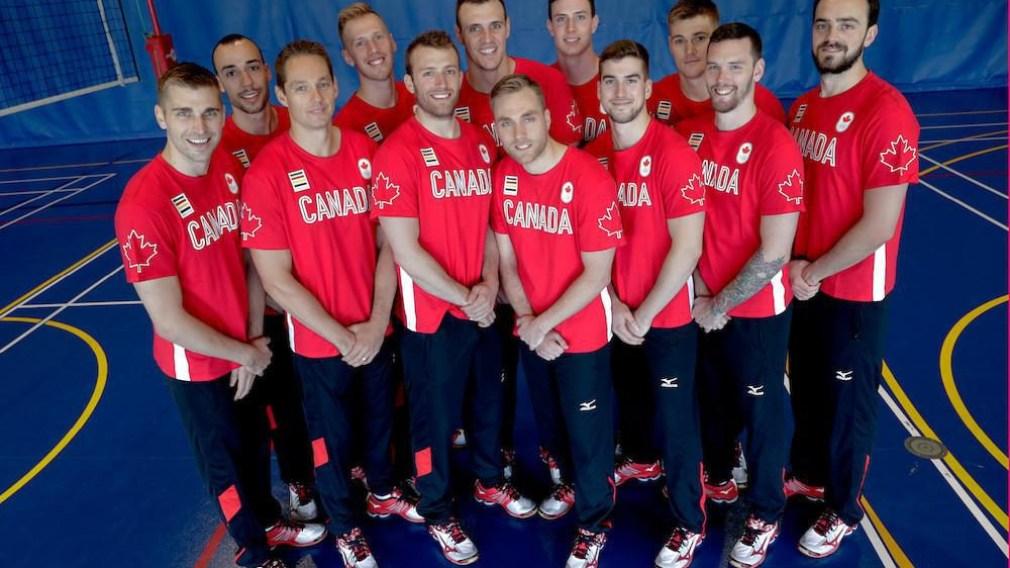 Nomination de l'équipe canadienne masculine de volleyball pour Rio 2016