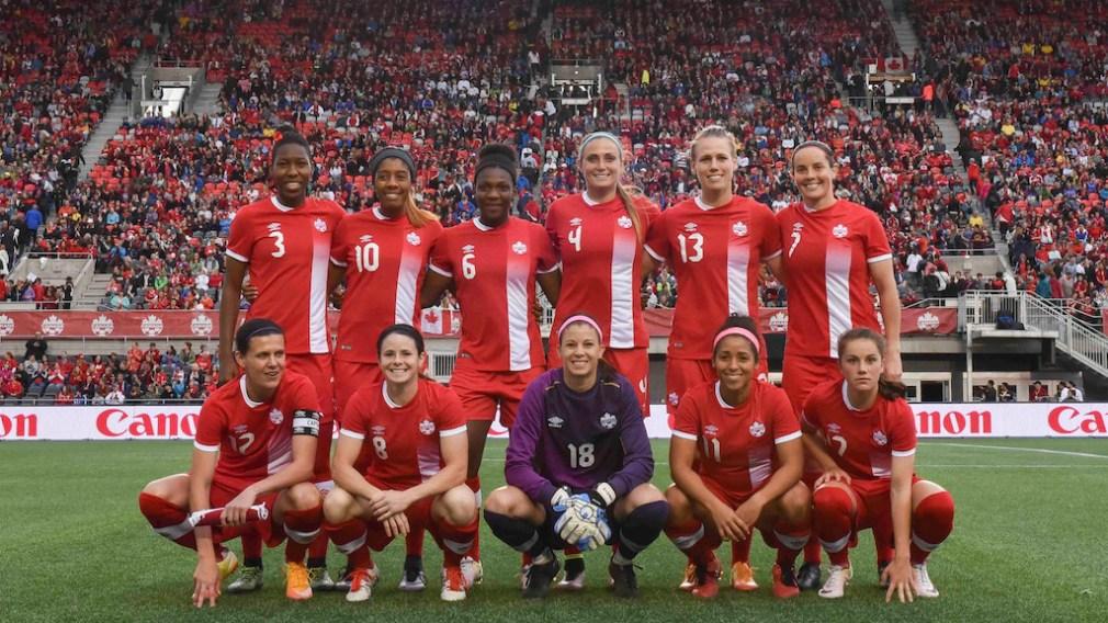 Nomination de l'équipe nationale féminine de soccer du Canada pour Rio 2016