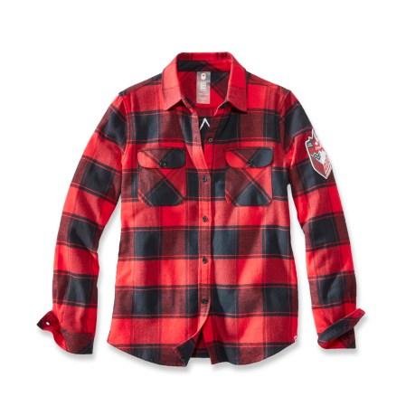 Chemise en flanelle à carreaux - Village