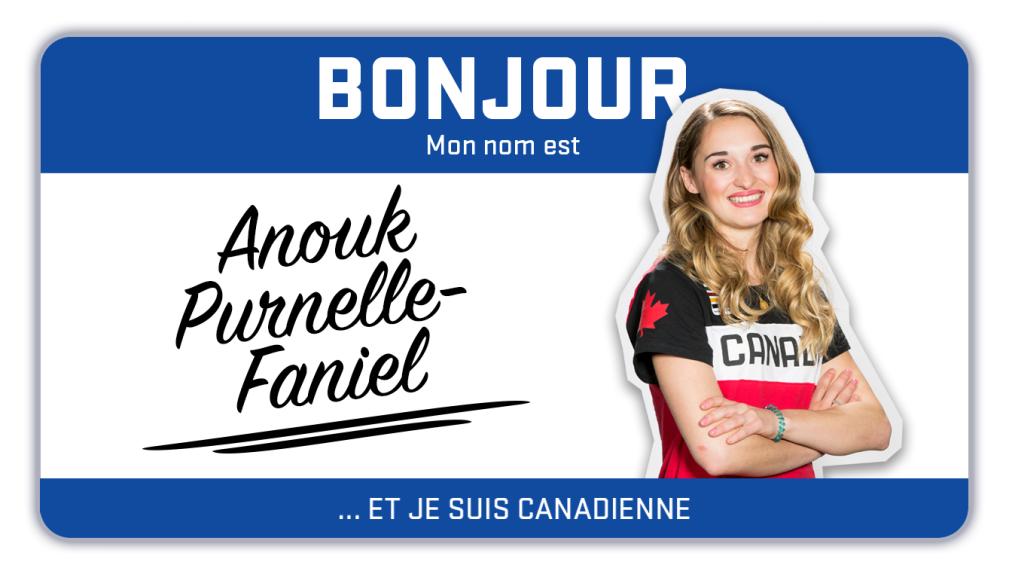 Bonjour, mon nom est Anouk Purnelle-Faniel et je skie