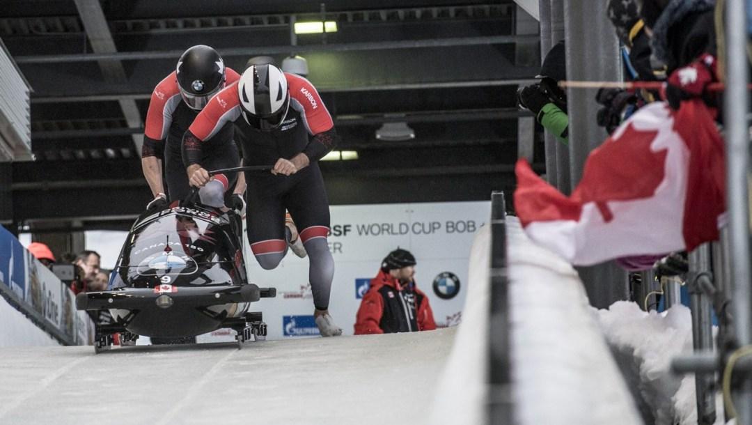 equipe Canada - bobsleigh-Justin Kripps - Alexander Kopacz - whistler