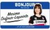 Bonjour, mon nom est Maxime Dufour-Lapointe et je skie
