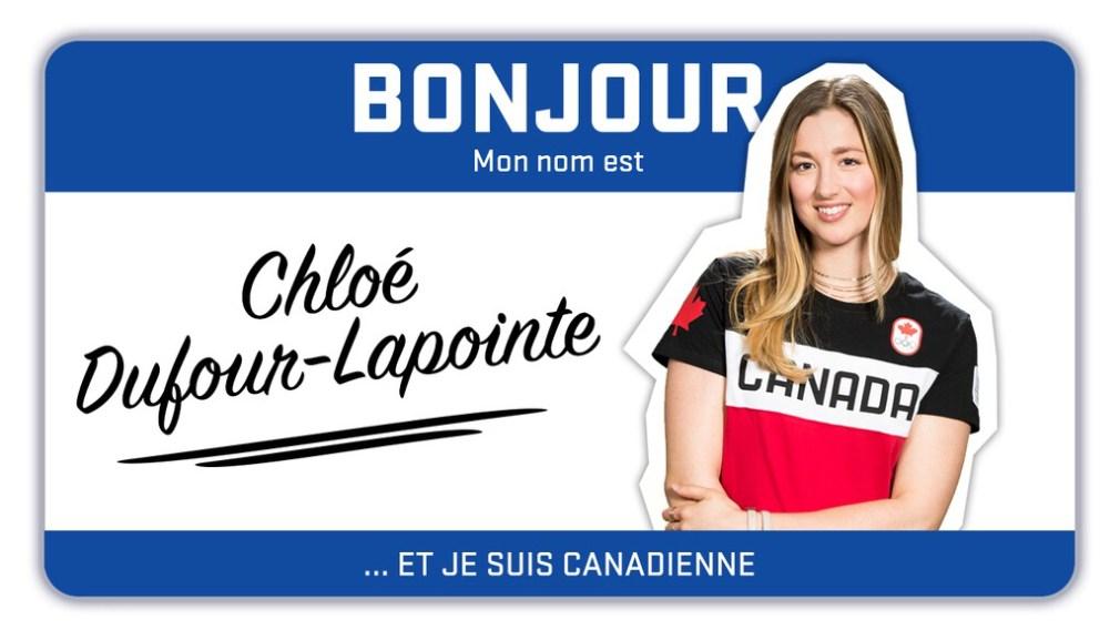 Bonjour, mon nom est Chloé Dufour-Lapointe et je skie