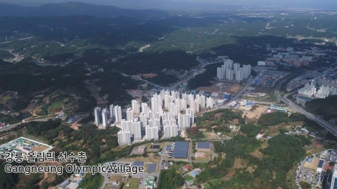 Village olympique de Gangneung (Pyeongchang2018/Facebook)