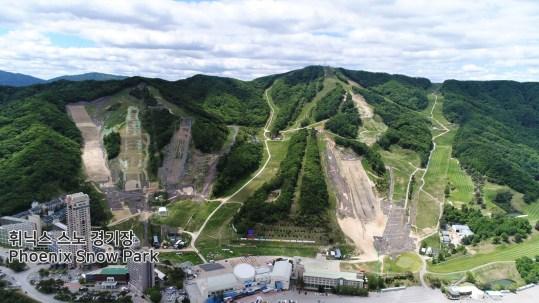 Les parc de Pheonix accueillera les épreuves de ski acrobatique et de surf des neiges. (PyeongChang2018/Facebook)