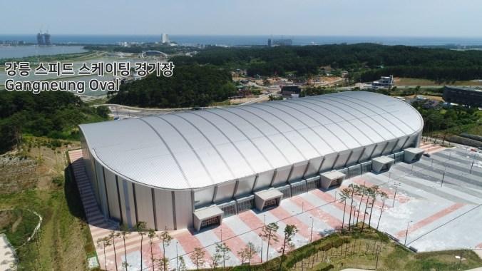 L'Ovale de Gangneung accueillera les épreuves de patinage de vitesse sur longue piste. (pyeongchang2018/Facebook)