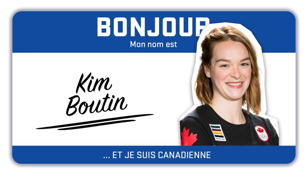 Bonjour, mon nom est Kim Boutin et je patine