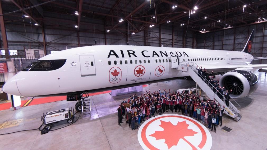AirCanada porte haut le drapeau grâce à son partenariat renouvelé avec l'Équipe olympique et l'Équipe paralympique canadiennes