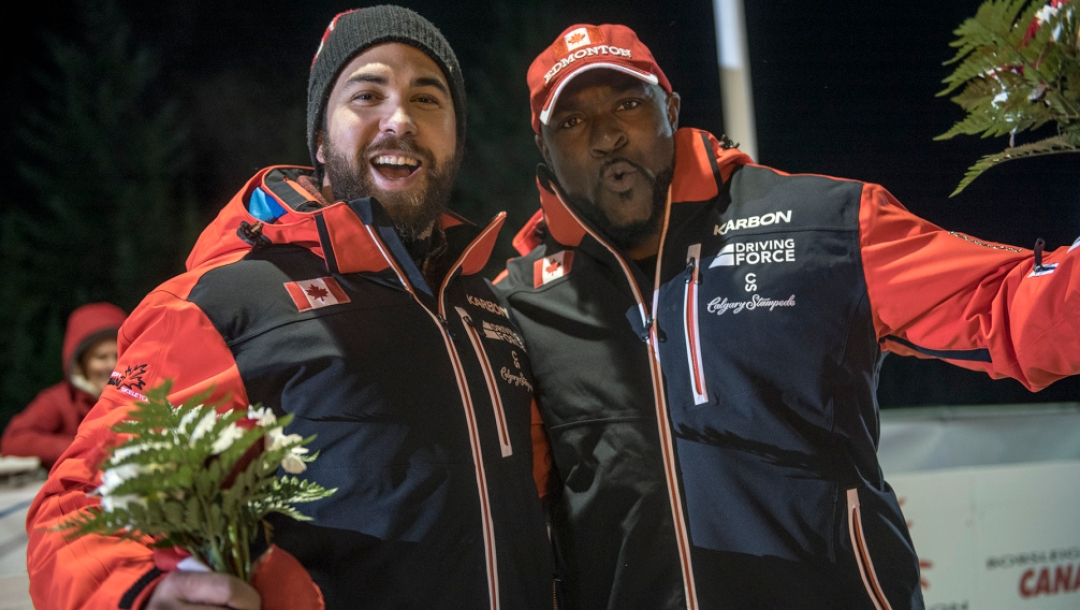 Equipe Canada-bobsleigh-chris-spring-neville-wright-podium