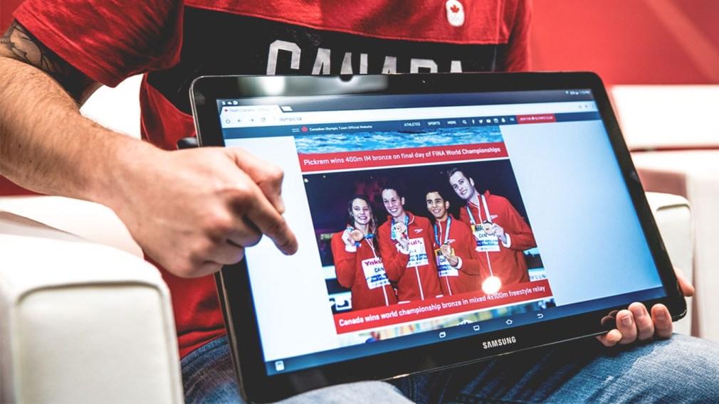 Comment accumuler des points du Club olympique canadien