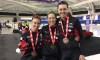 Les Canadiennes en bronze à la poursuite par équipes à Calgary