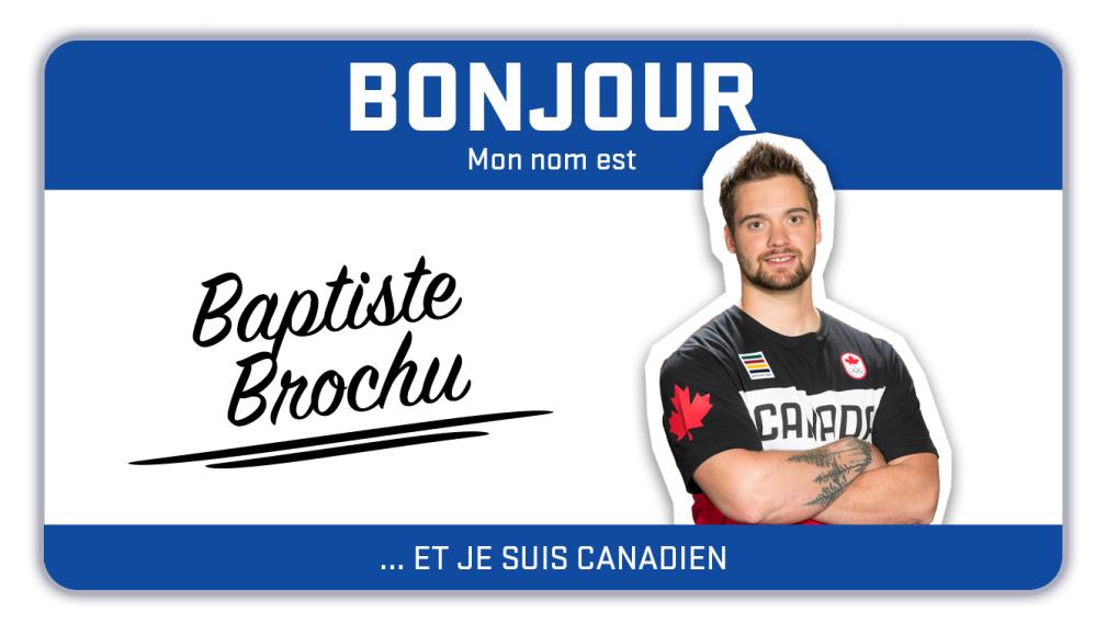 Bonjour, mon nom est Baptiste Brochu et je fais du snowboard