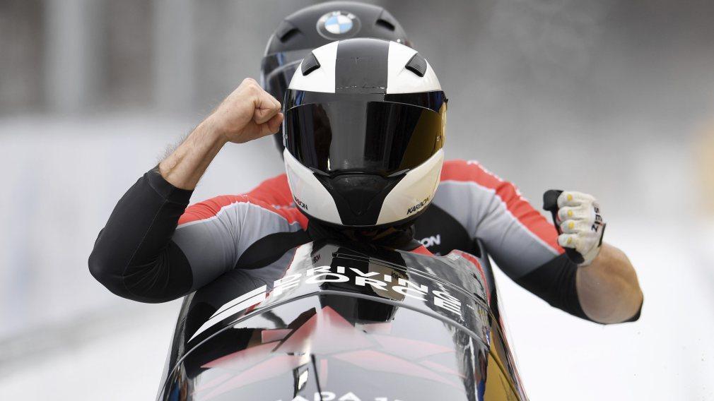 Kripps et Humphries couronnés champions de la saison de bobsleigh en Allemagne