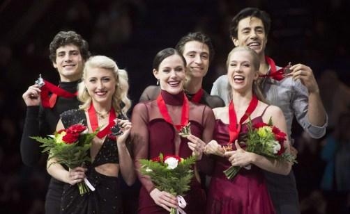 Équipe Canada -Tessa Virtue et Scott Moir - Championnats Mondiaux de Vancouver
