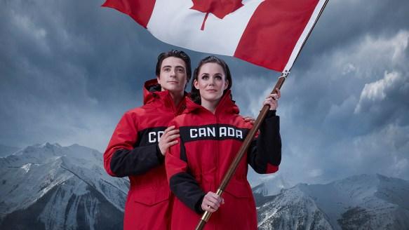 Équipe Canada - Tessa Virtue et Scott Moir - Porte-drapeaux