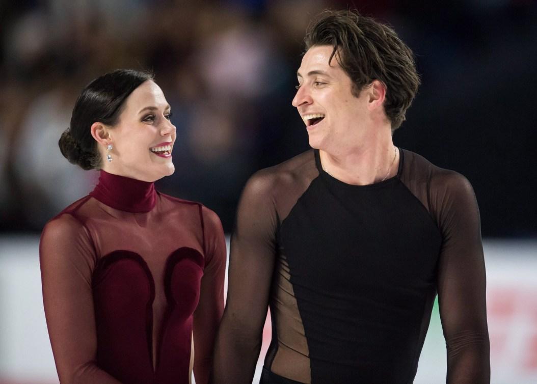 Équipe Canada - Tessa Virtue et Scott Moir aux Championnats canadiens de patinage artistique à Vancouver