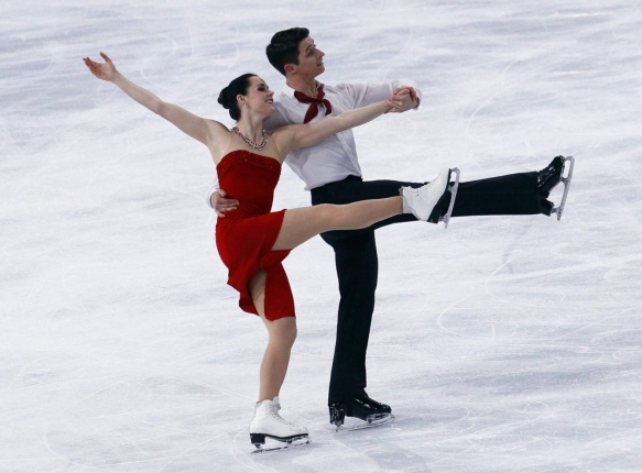 Équipe Canada -Tessa Virtue et Scott Moir