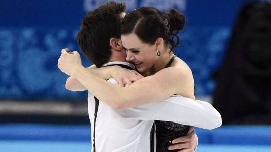 Équipe Canada - Tessa Virtue et Scott Moir - Sotchi 2014
