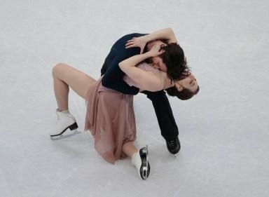 Équipe Canada - Tessa Virtue et Scott Moir aux Championnats mondiaux de patinage artistique en Finlande