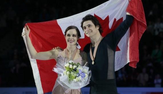 Équipe Canada - Tessa Virtue et Scott Moir - Championnats mondiaux de patinage artistique - Helsinki