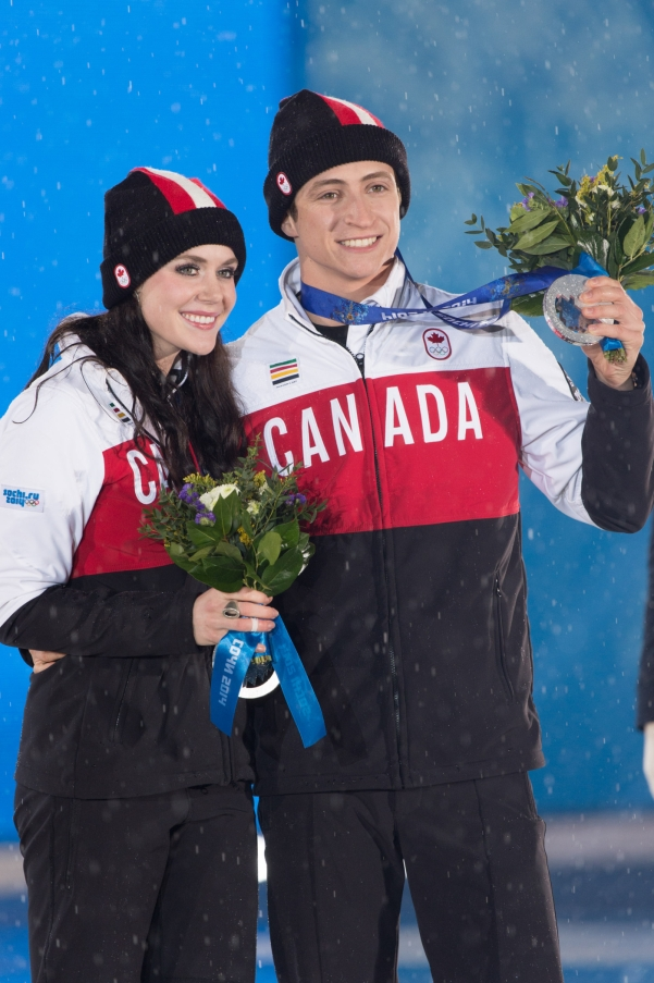 Équipe Canada - Scott et Moir - Sotchi 2014