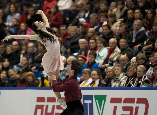Équipe Canada - Tessa Virtue et Scott Moir - International de Patinage Canada