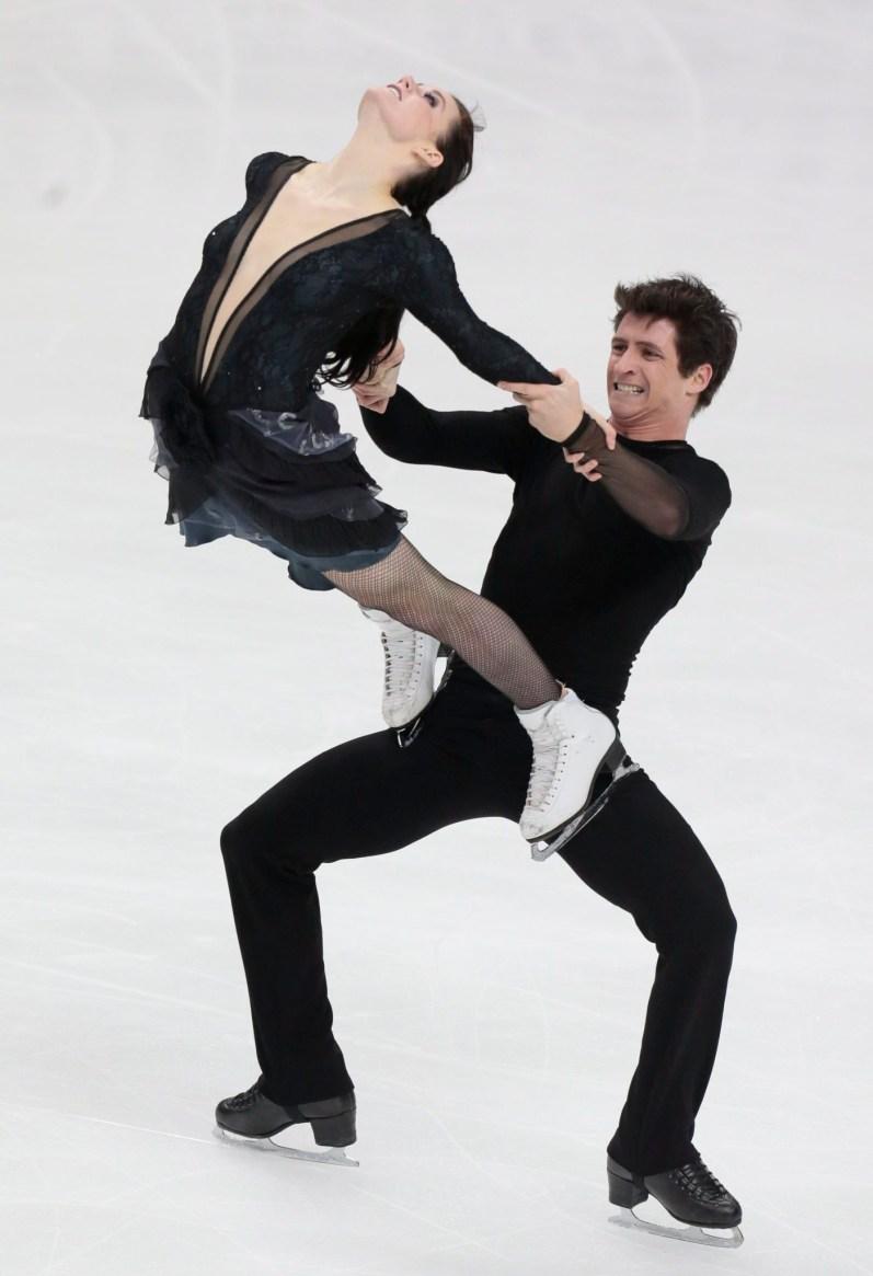 Équipe Canada - Tessa Virtue et Scott Moir - Grand Prix Rostelekom