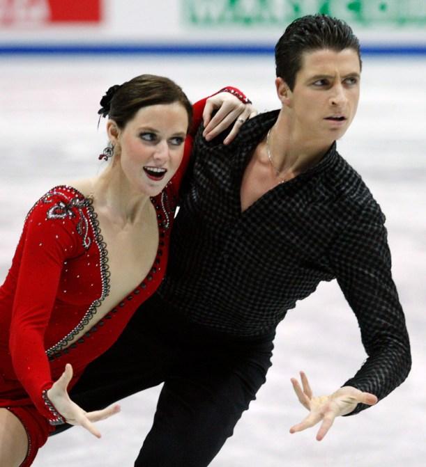 Équipe Canada - Tessa Virtue et Scott Moir - Mondiaux de patinage artistique 2008