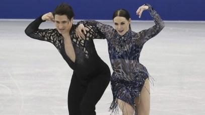 Équipe Canada - Tessa Virtue et Scott Moir - Grand Prix de l'ISU au Japon