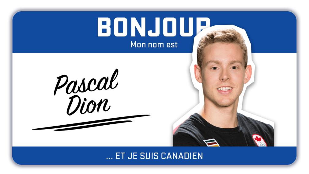 Bonjour, mon nom est Pascal Dion et je patine