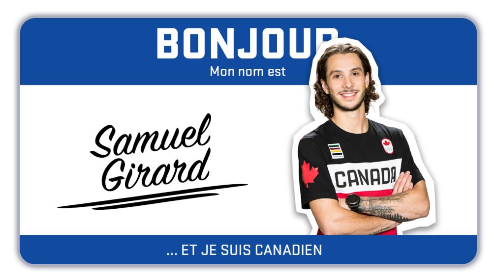 Bonjour, mon nom est Samuel Girard et je patine