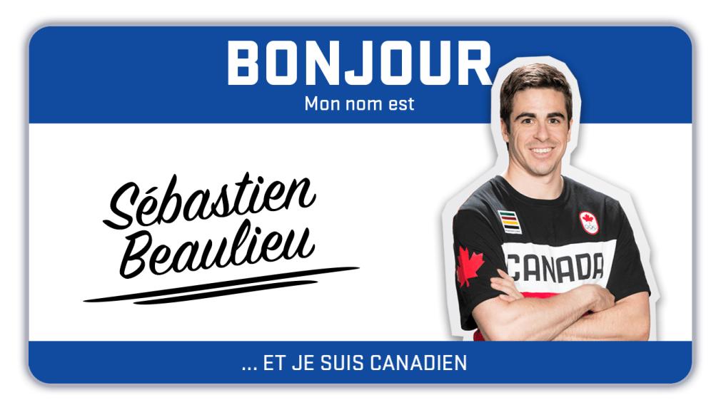 Bonjour, mon nom est Sébastien Beaulieu et je fais du snowboard