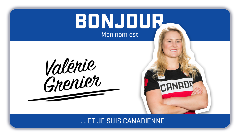 Bonjour, mon nom est Valérie Grenier et je skie