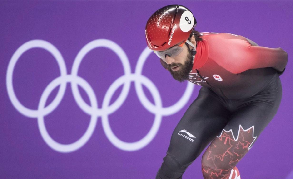 Equipe Canada-patinage de vitesse sur courte piste-Charles Hamelin-pyeongchang 2018