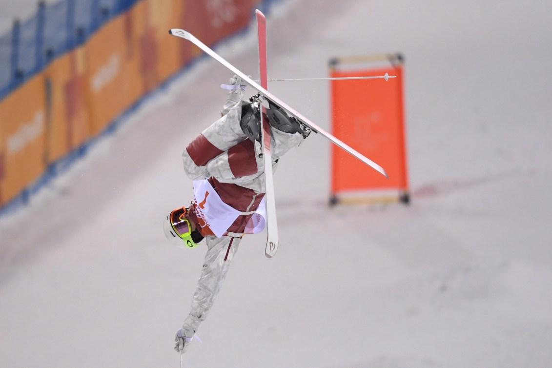 Equipe Canada-ski acrobatique-Mikael Kingsbury-Pyeongchang 2018