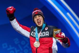 Alex Beaulieu-Marchand a permis au Canada de remporter la première médaille de son histoire en ski slopestyle. LA PRESSE CANADIENNE/HO-COC, Vincent Ethier