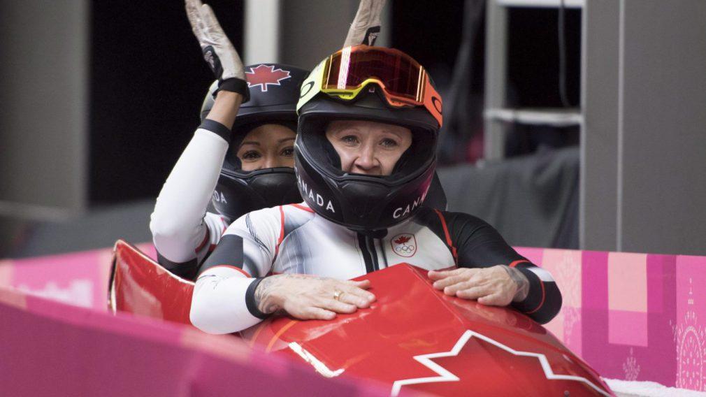 Une médaille de bronze « spéciale » en bobsleigh pour un duo canadien unique
