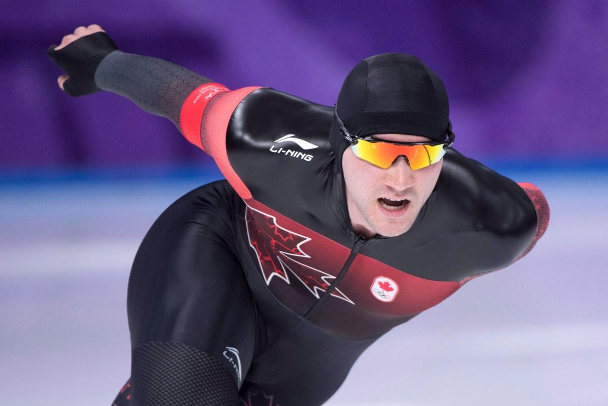 Equipe Canada-Patinage de vitesse sur longue piste-Vincent De Haitre-pyeongchang 2018