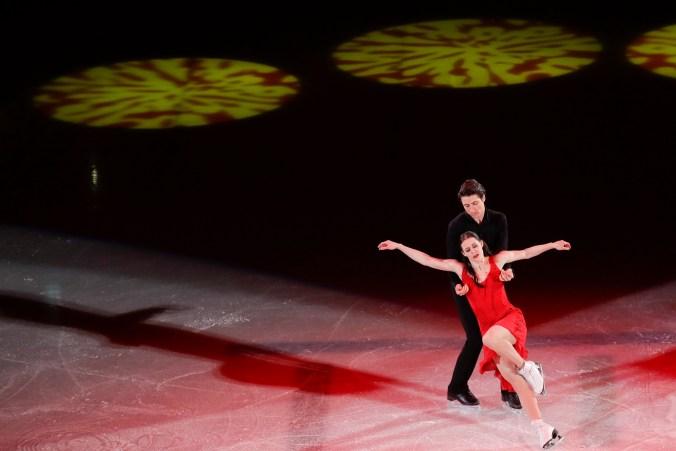 Equipe Canada-patinage artistique-scott moir-tessa virtue-pyeongchang 2018