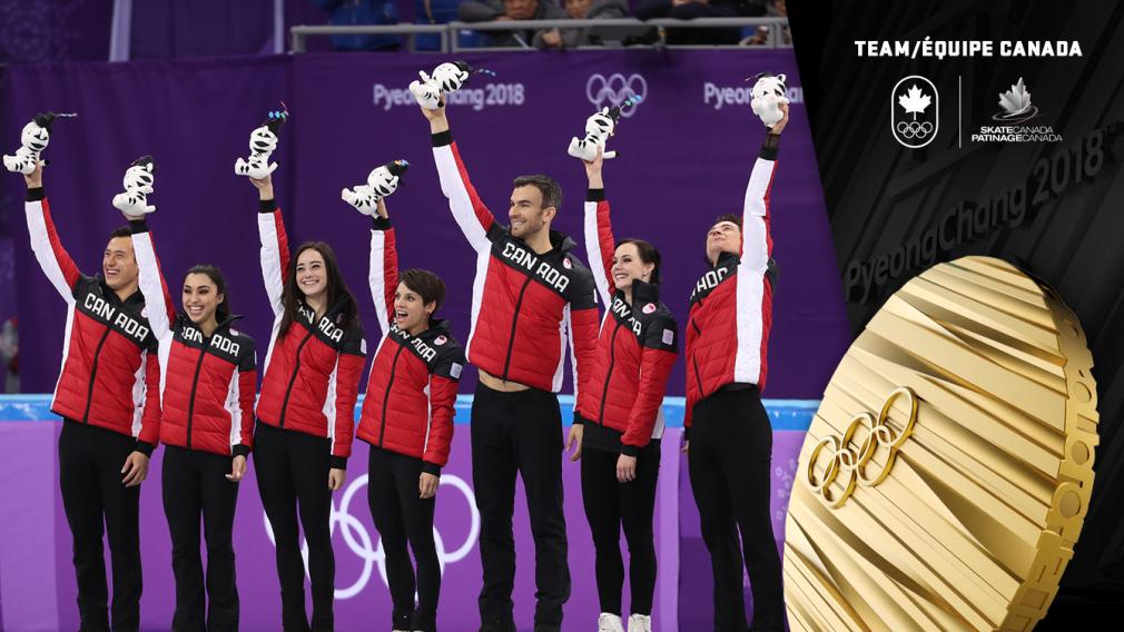 Épreuve par équipes - Patinage artistique - Médaille d'or - PyeongChang 2018 - Équipe Canada