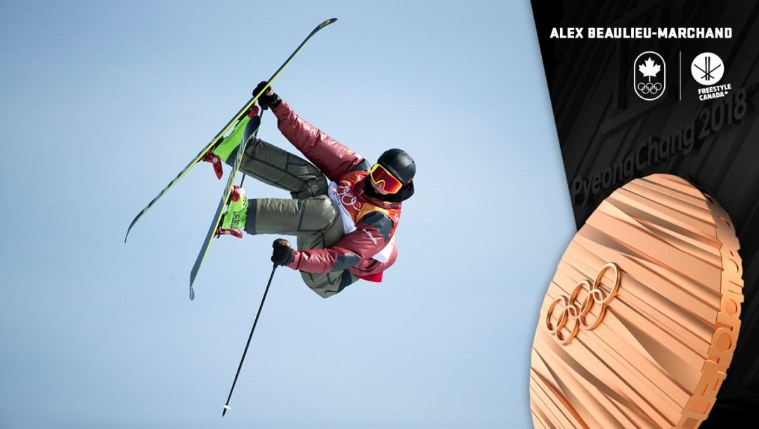 Alex Beaulieu-Marchand - Médaille de bronze - PyeongChang 2018 - Équipe Canada