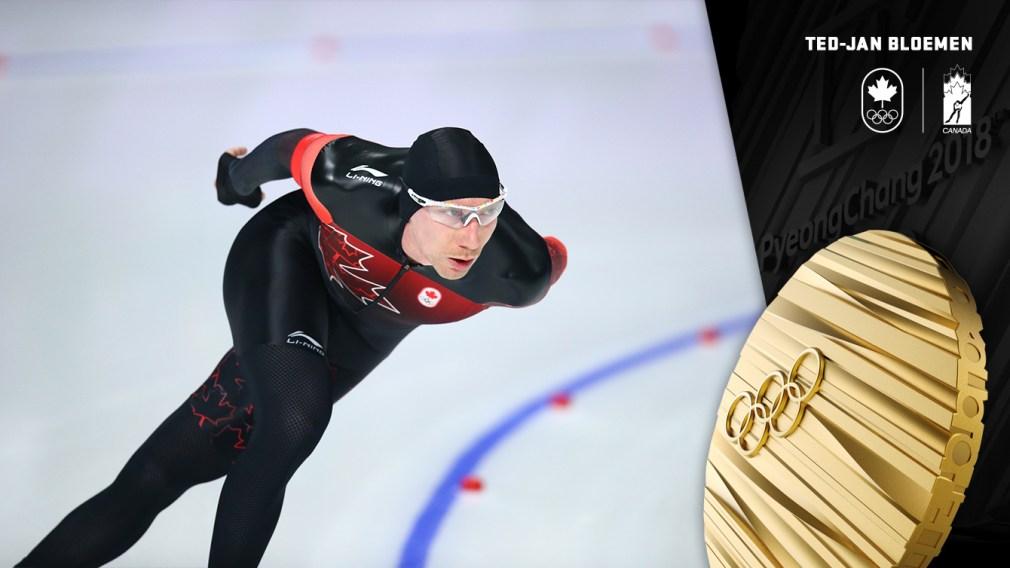 Ted-Jan Bloemen - Médaille d'or - PyeongChang 2018 - Équipe Canada