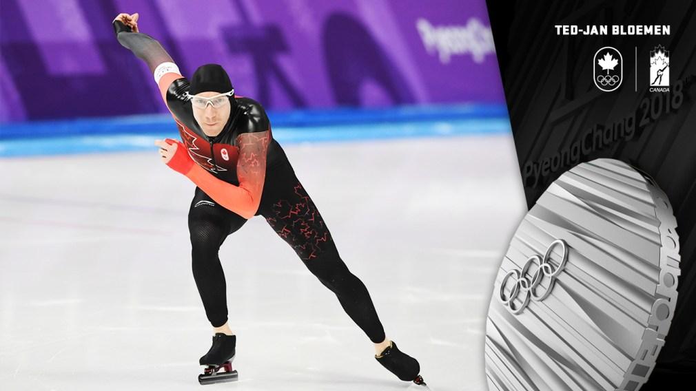 Ted-Jan Bloemen - Médaille d'argent - PyeongChang 2018 - Équipe Canada