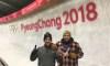 Des techniciens canadiens travaillent sur une piste à PyeongChang