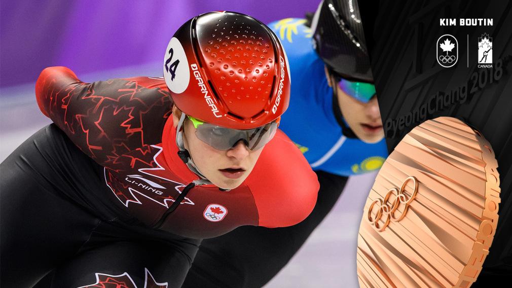 Kim Boutin - Médailel de bronze - PyeongChang 2018 - Équipe Canada
